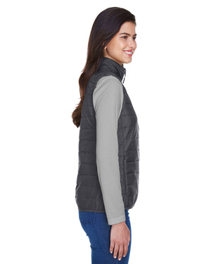 Core 365 Ladies' Prevail Packable Puffer Vest - CE702W
