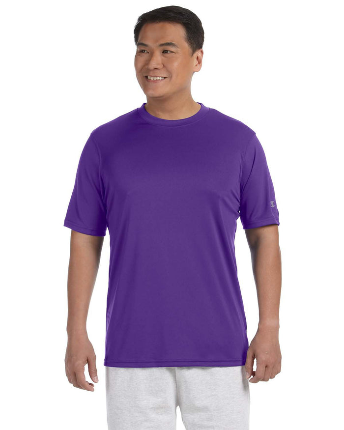 Champion Adult 4.1 oz. Double Dry® Interlock T-Shirt - CW22