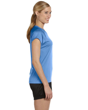 Champion Ladies' 4.1 oz. Double Dry® V-Neck T-Shirt - CW23