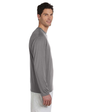 Champion Adult 4.1 oz. Double Dry® Long-Sleeve Interlock T-Shirt - CW26