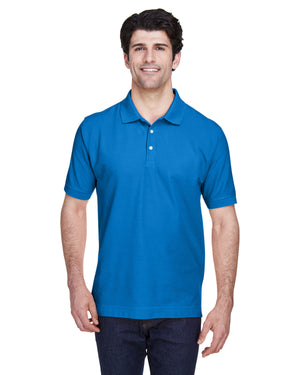 Devon & Jones Men's Tall Pima Piqué Short-Sleeve Polo - D100T