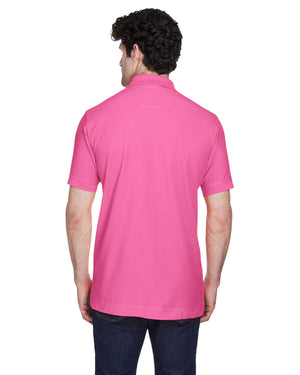 Devon & Jones Men's Pima Piqué Short-Sleeve Polo - D100