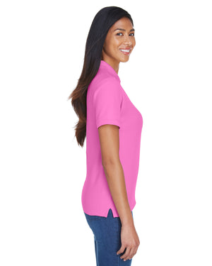 Devon & Jones Ladies' Pima Piqué Short-Sleeve Polo - D112W