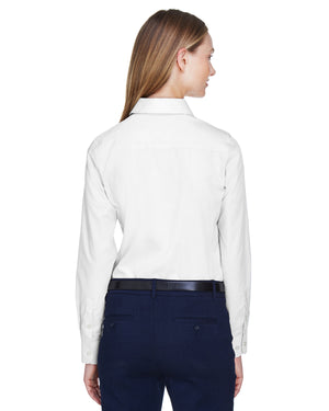 Devon & Jones Ladies' Crown Woven Collection™ Solid Broadcloth - D620W