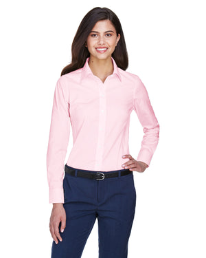 Devon & Jones Ladies' Crown Woven Collection™ Solid Oxford - D630W