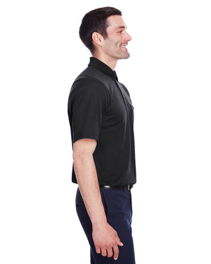Devon & Jones Men's CrownLux Performance™ Plaited Polo with Pocket - DG20P