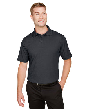 Devon & Jones CrownLux Performance™ Men's Address Melange Polo - DG22