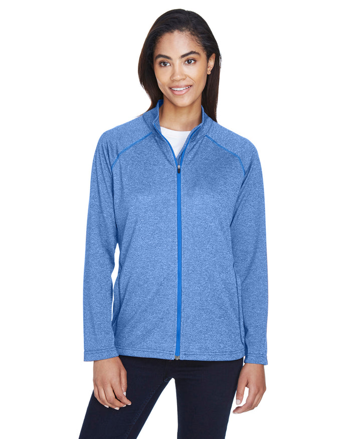 Devon & Jones Ladies' Stretch Tech-Shell® Compass Full-Zip - DG420W