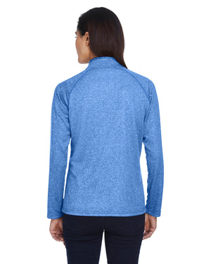 Devon & Jones Ladies' Stretch Tech-Shell® Compass Quarter-Zip - DG440W