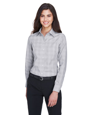Devon & Jones Ladies' Crown Woven Collection™ Glen Plaid - DG520W