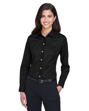 Devon & Jones Ladies' Crown Woven Collection™ Solid Stretch Twill - DG530W