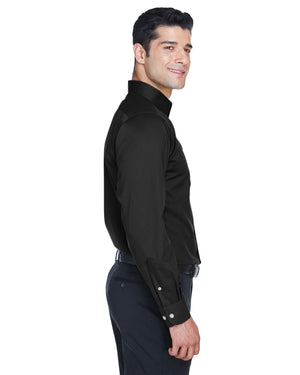 Devon & Jones Men's Crown Woven Collection™ Solid Stretch Twill - DG530