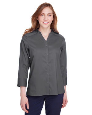 Devon & Jones Ladies' Crown  Collection™ Stretch Broadcloth 3/4 Sleeve Blouse - DG560W