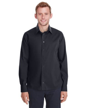 Devon & Jones Men's Crown  Collection™ Stretch Broadcloth Untucked Shirt - DG561
