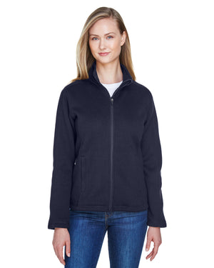 Devon & Jones Ladies' Bristol Full-Zip Sweater Fleece Jacket - DG793W
