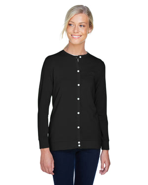 Devon & Jones Ladies' Perfect Fit™ Ribbon Cardigan - DP181W