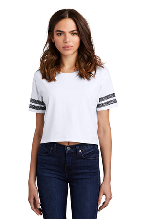 District  Women's Scorecard Crop Tee DT488