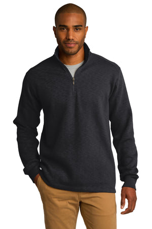 Port Authority Slub Fleece 1/4-Zip Pullover. F295
