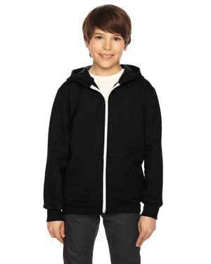 American Apparel Youth Flex Fleece Zip Hoodie - F297W