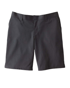 "Dickies 6.75 oz. Women's 9"" Flat Front Short - FR221"