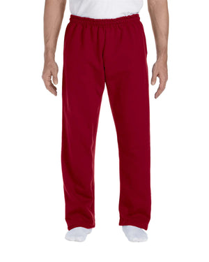 Gildan Adult DryBlend® Adult 9 oz., 50/50 Open-Bottom Sweatpants - G123