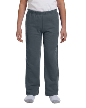 Gildan Youth Heavy Blend™ 8 oz., 50/50 Open-Bottom Sweatpants - G184B
