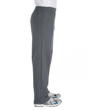 Gildan Adult Heavy Blend™ Adult 8 oz., 50/50 Open-Bottom Sweatpants - G184