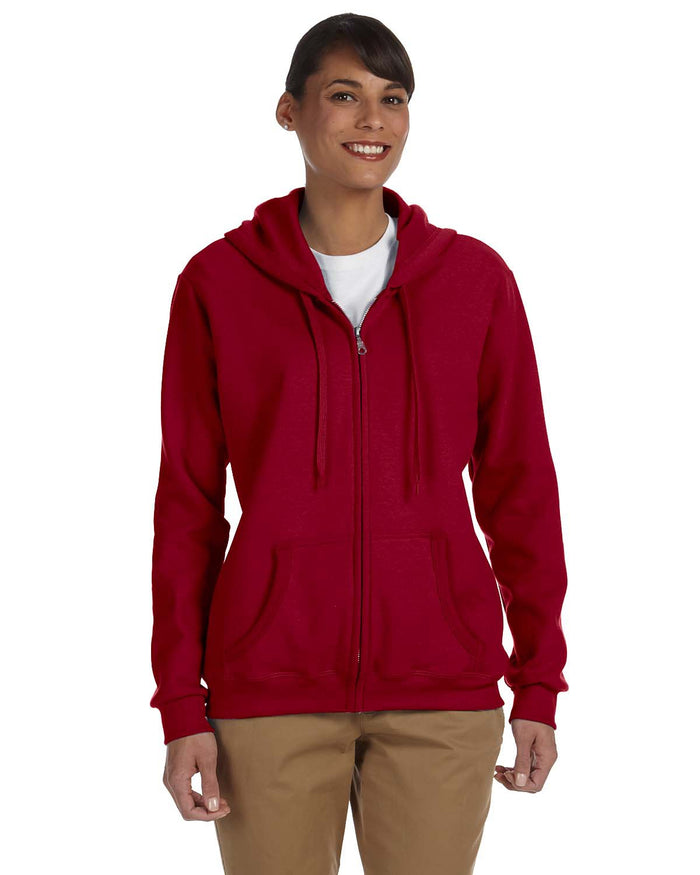 Gildan Ladies' Heavy Blend™ Ladies' 8 oz., 50/50 Full-Zip Hood - G186FL