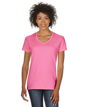 Gildan Ladies'   Heavy Cotton™ 5.3 oz. V-Neck T-Shirt - G500VL