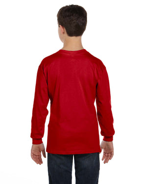 Gildan Youth  Heavy Cotton™ 5.3 oz. Long-Sleeve T-Shirt - G540B