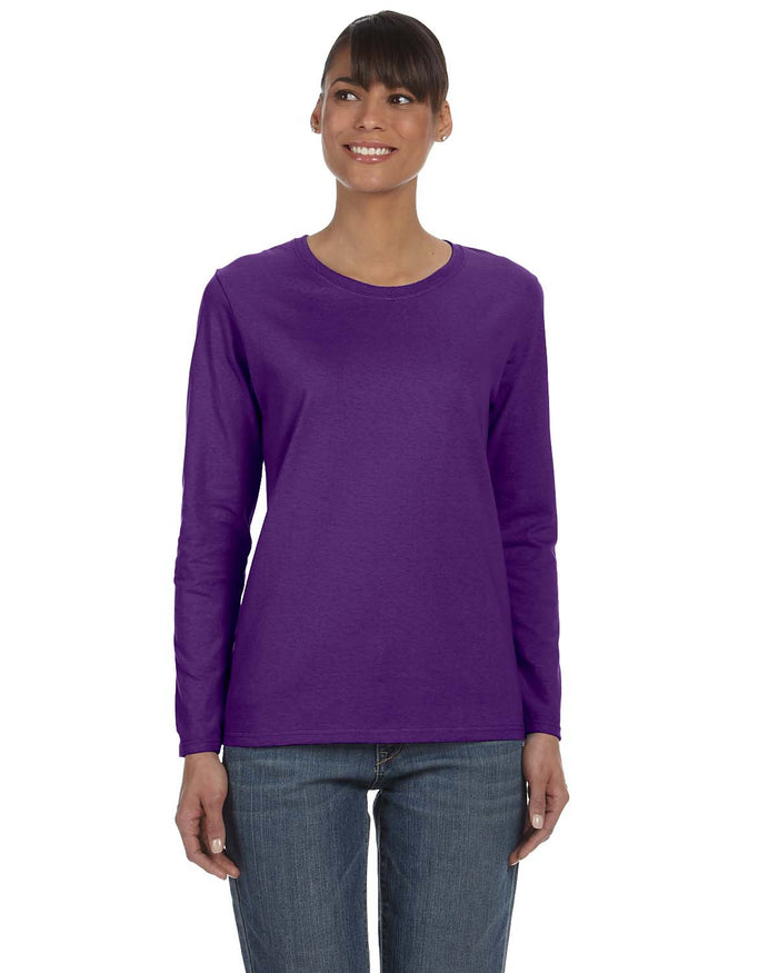 Gildan Ladies'   Heavy Cotton™ 5.3 oz. Long-Sleeve T-Shirt - G540L
