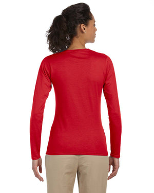 Gildan Ladies' Softstyle®  4.5 oz. Long-Sleeve T-Shirt - G644L