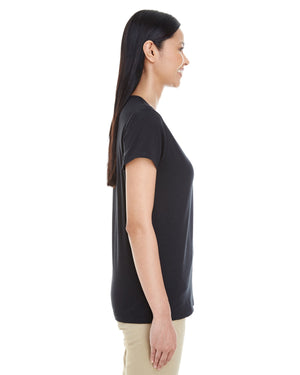 Gildan Ladies' Softstyle®  4.5 oz. Deep Scoop T-Shirt - G6455L