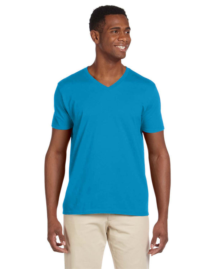 Gildan Adult Softstyle® 4.5 oz. V-Neck T-Shirt - G64V