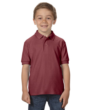 Gildan Youth 6 oz. Double Piqué Polo - G728B