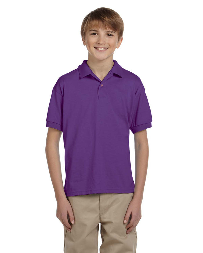 Gildan Youth 6 oz., 50/50 Jersey Polo - G880B