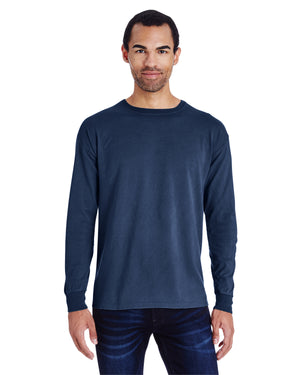 ComfortWash by Hanes Unisex 5.5 oz., 100% Ringspun Cotton Garment-Dyed Long-Sleeve T-Shirt - GDH200
