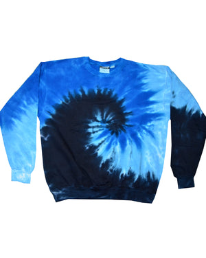 Tie-Dye Adult 8.5 oz., 80/20 crew neck fleece - H8100