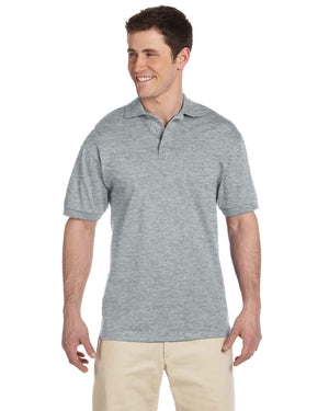 Jerzees Adult 6.1 oz. Heavyweight Cotton™ Jersey Polo - J100