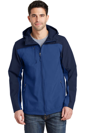 Port Authority Hooded Core Soft Shell Jacket. J335