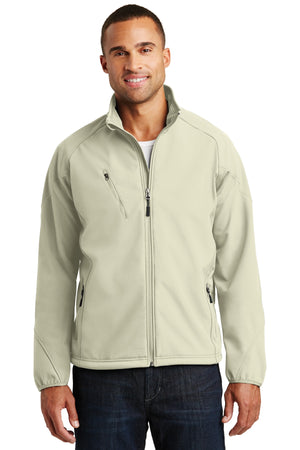 Port Authority Textured Soft Shell Jacket. J705