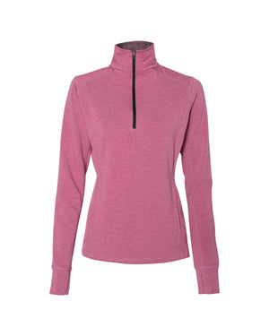 J America Ladies' Omega Stretch Quarter-Zip - JA8433