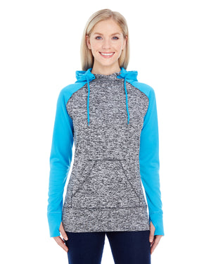 J America Ladies' Colorblock Cosmic Hood - JA8618