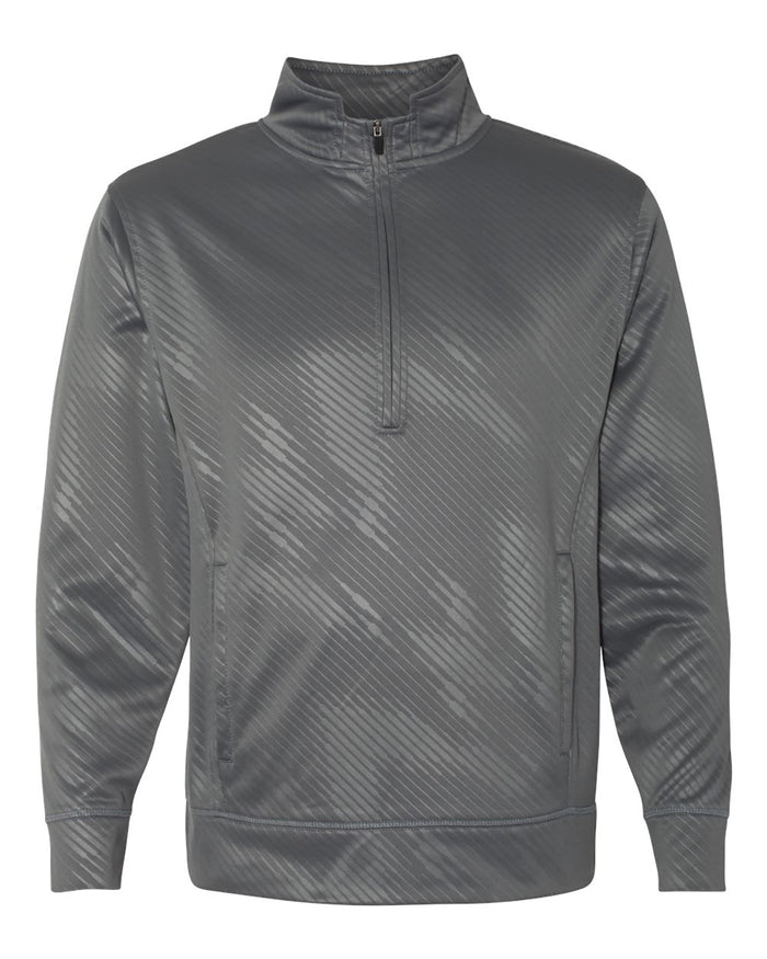 J America Adult Volt Poly Fleece 1/4 Zip - JA8669