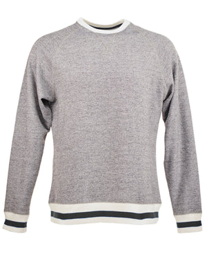J America Adult Peppered Fleece Sweatshirt - JA8702