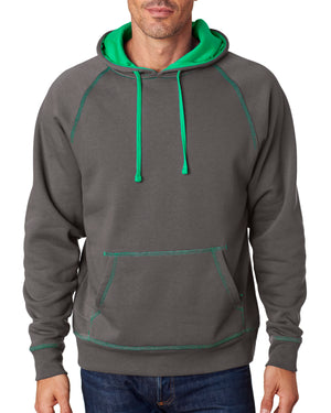 J America Adult Shadow Fleece Pullover Hood - JA8883