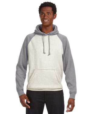 J America Adult Vintage Heather Pullover Hood - JA8885