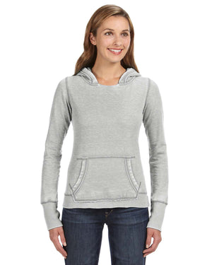 J America Ladies' Zen Pullover Fleece Hood - JA8912