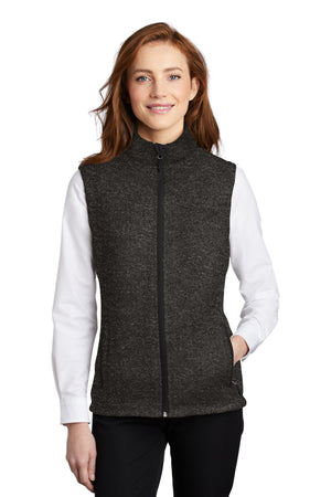 Port Authority  Ladies Sweater Fleece Vest L236