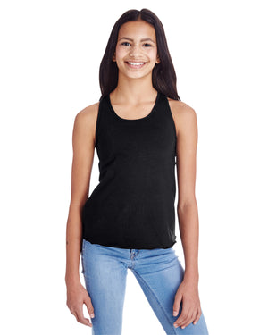 LAT Girls' Relaxed Racerback Tank - LA2621